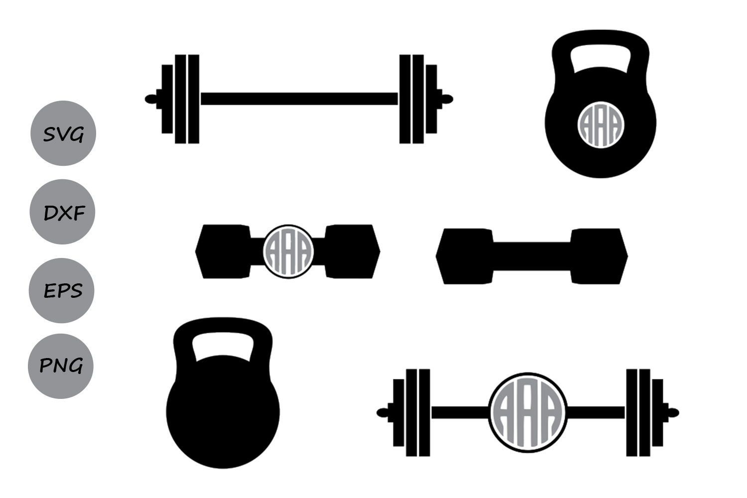 barbell svg #777, Download drawings
