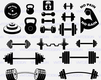 barbell svg #782, Download drawings