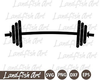 barbell svg #789, Download drawings