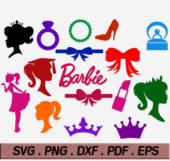 barbie svg #194, Download drawings