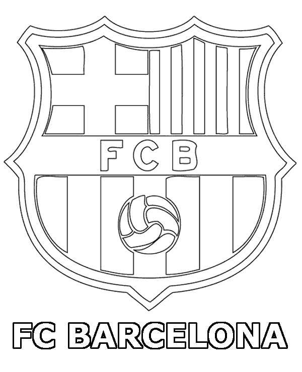 coloring pages barcelona fc fixtures - photo#2