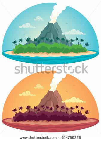 Vulcano Island clipart #12, Download drawings