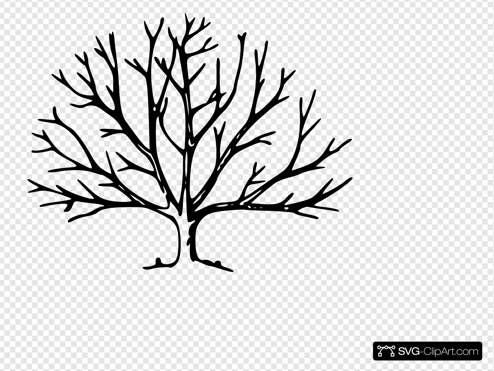 bare tree svg #714, Download drawings
