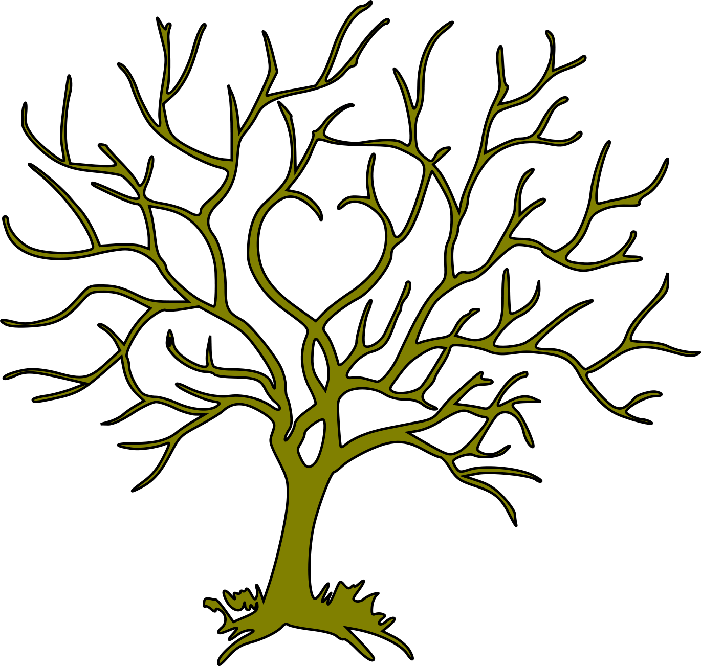 bare tree svg #751, Download drawings