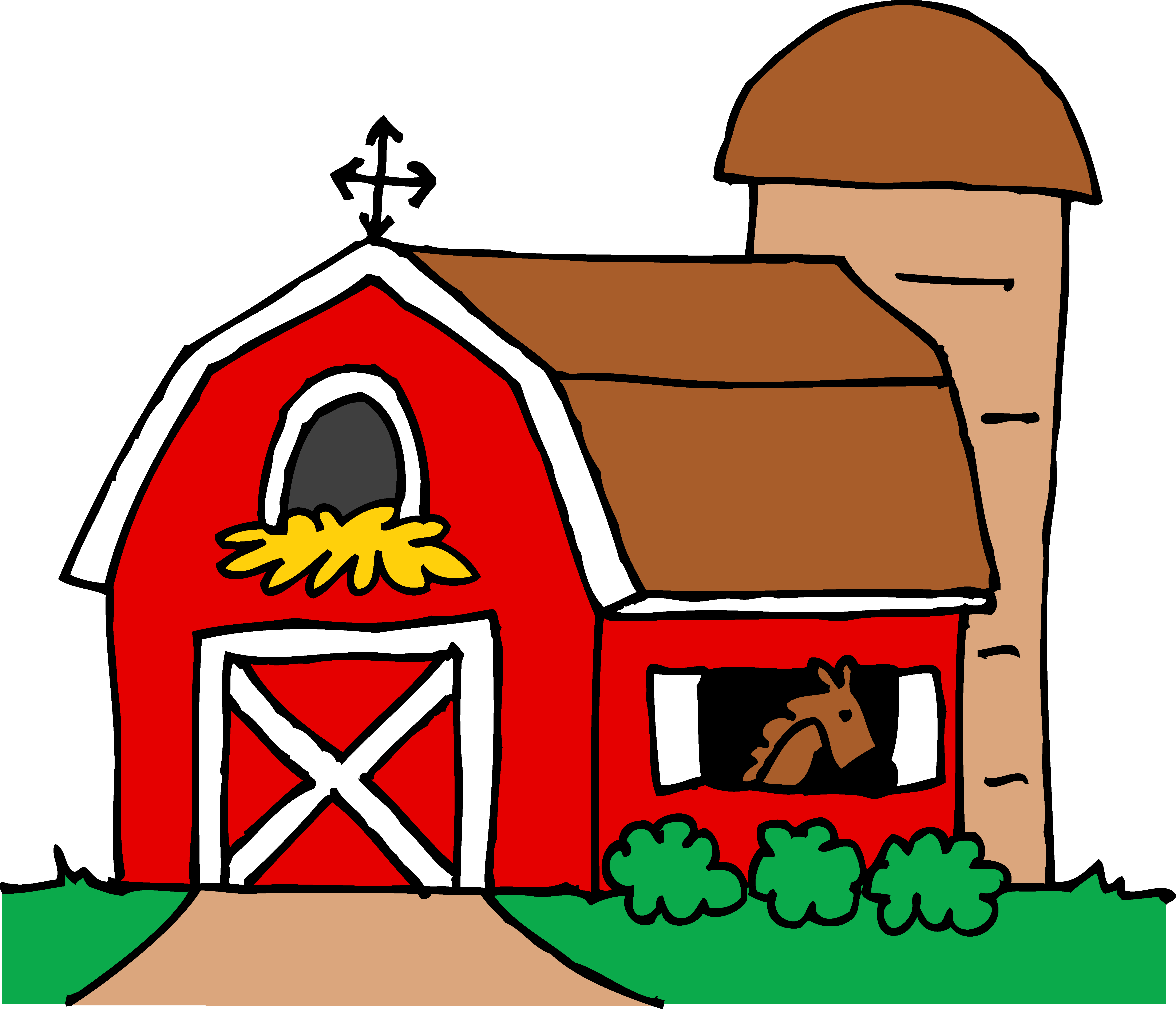 Barn clipart #1, Download drawings