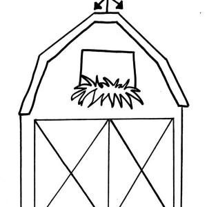 Barn coloring #6, Download drawings