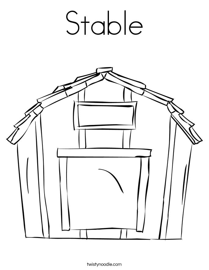 Barn coloring #17, Download drawings