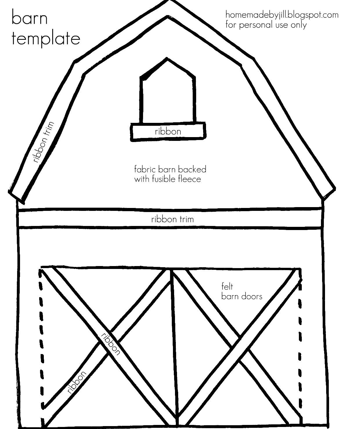 Barn coloring #12, Download drawings