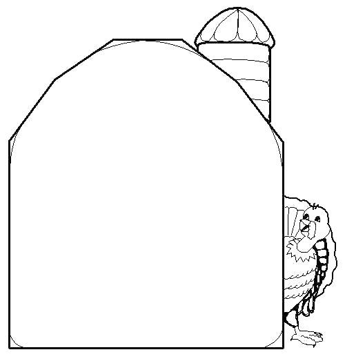 Barn coloring #1, Download drawings