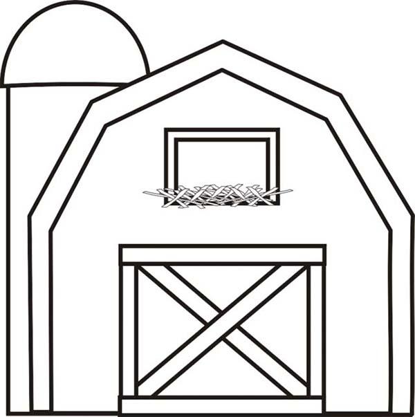 Barn coloring #19, Download drawings