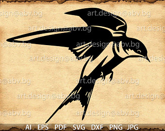 Swallow-tailed Hummingbird svg #8, Download drawings
