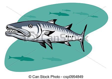 Barracuda clipart #14, Download drawings