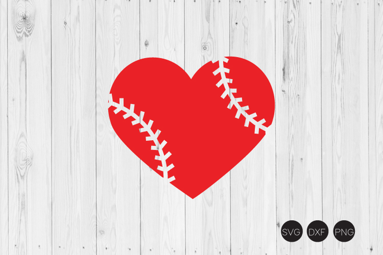 baseball heart svg #905, Download drawings