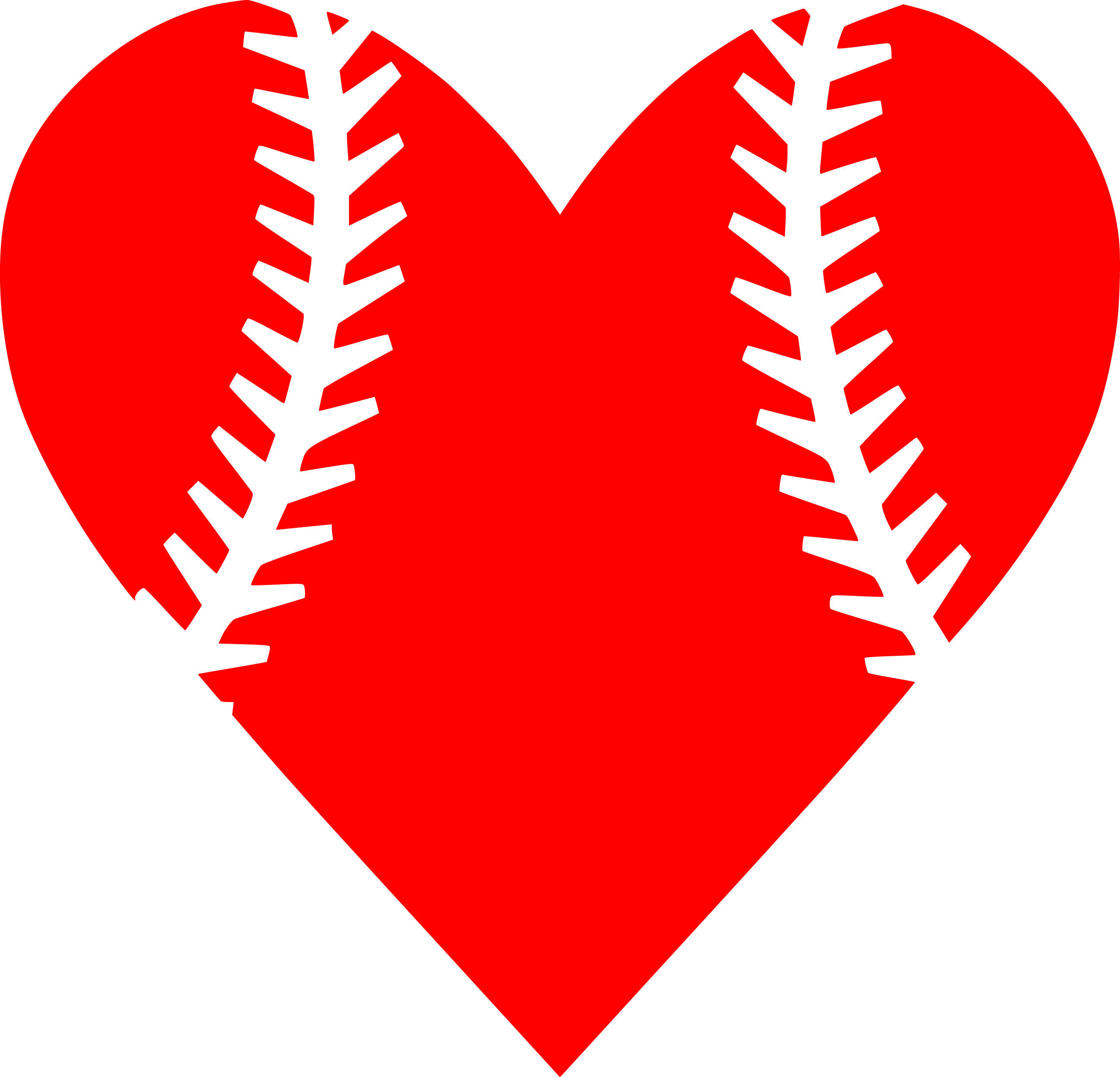 baseball heart svg #897, Download drawings