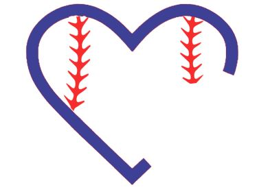 baseball heart svg #901, Download drawings