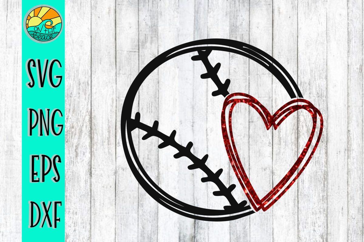 baseball heart svg #900, Download drawings