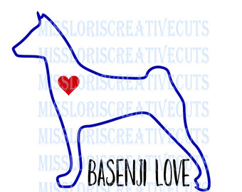 Basenji svg #10, Download drawings