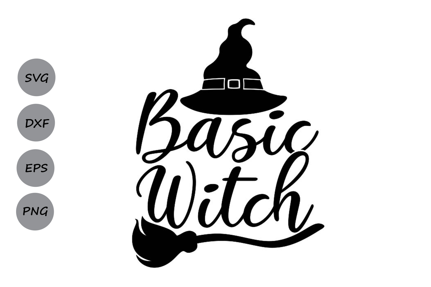 basic witch svg #647, Download drawings