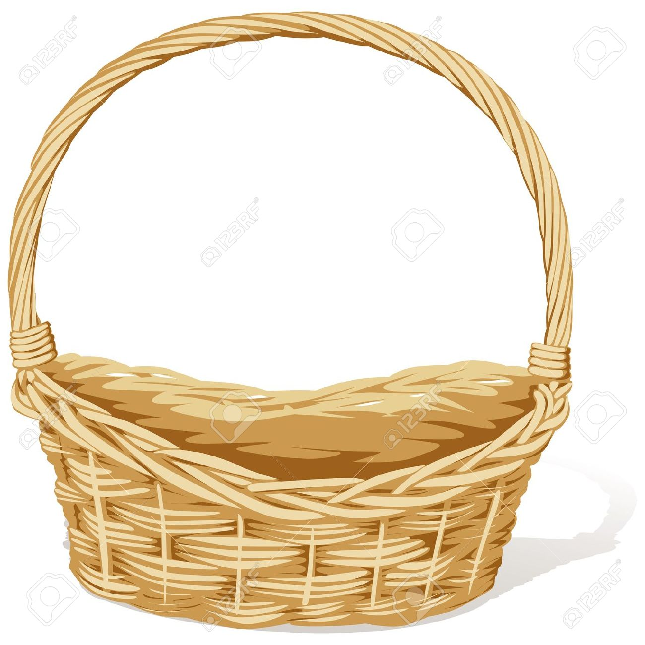Basket clipart #11, Download drawings
