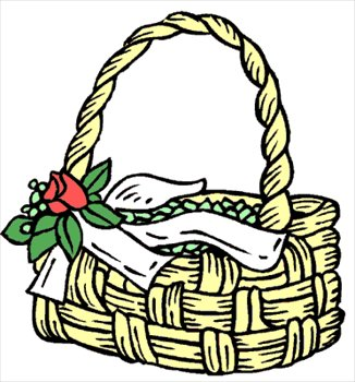 Basket clipart #2, Download drawings