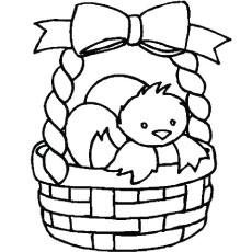 Basket coloring #10, Download drawings