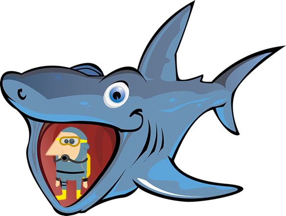Basking Shark clipart #2, Download drawings