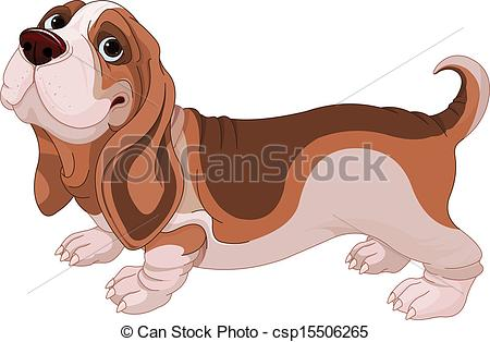 Basset clipart #1, Download drawings