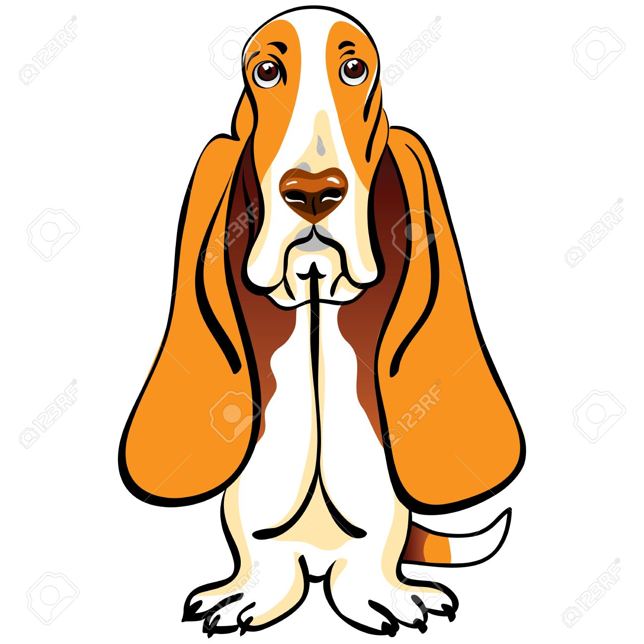 Basset clipart #7, Download drawings