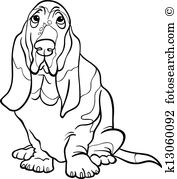 Basset Hound clipart #20, Download drawings