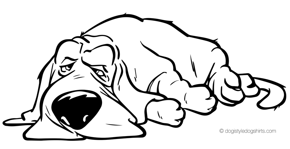 Basset Hound coloring #19, Download drawings