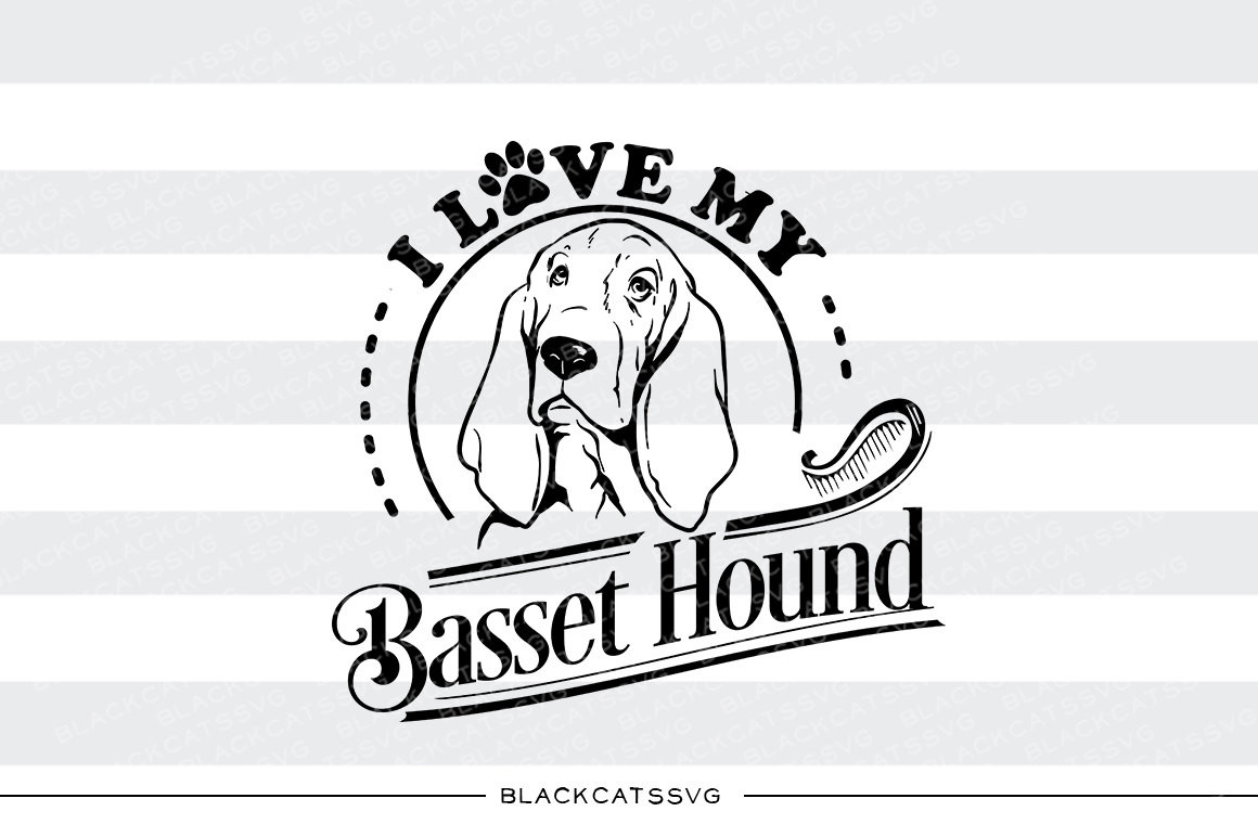 Basset Hound svg #17, Download drawings