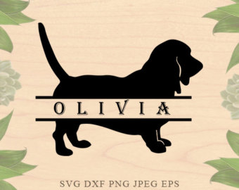 Basset Hound svg #15, Download drawings