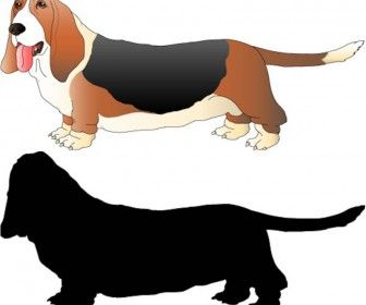 Basset Hound svg #9, Download drawings