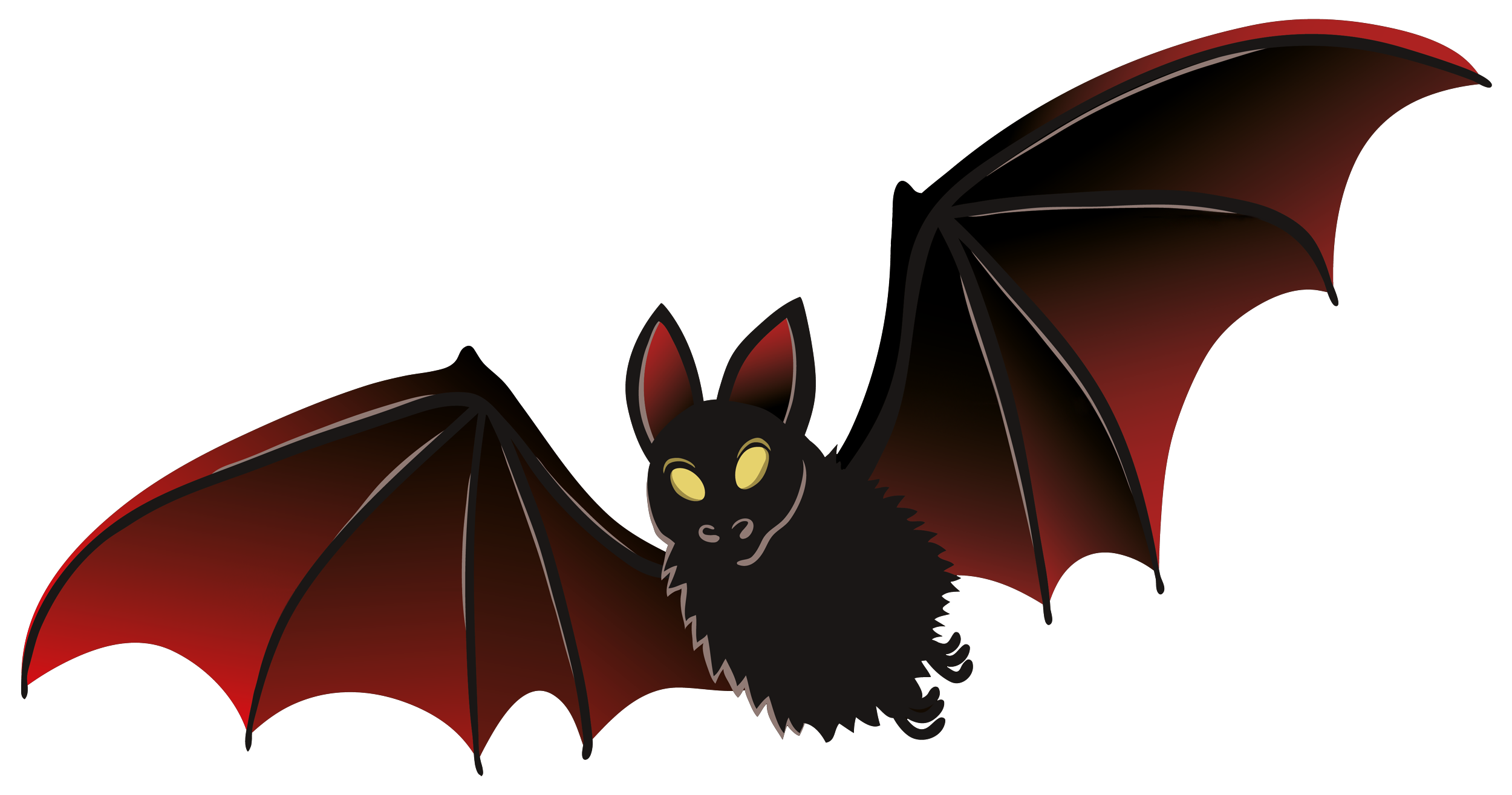 Bat clipart #2, Download drawings