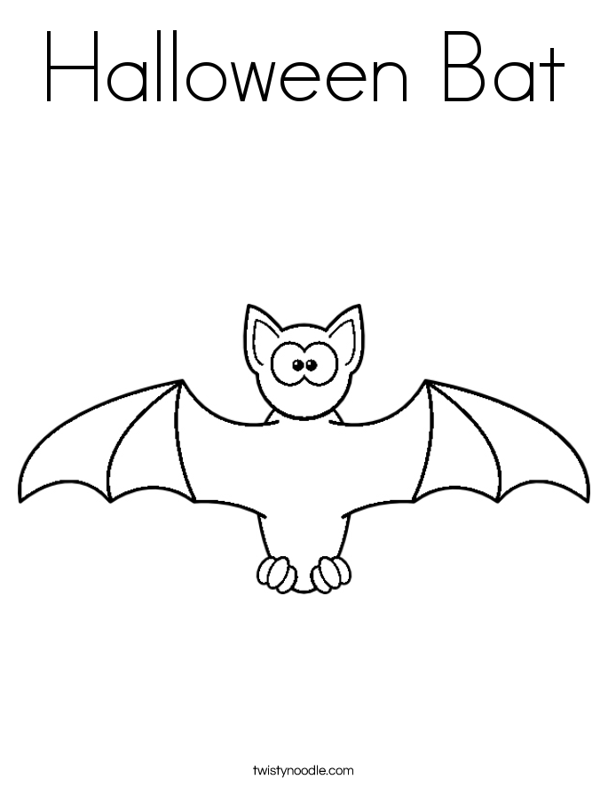 Bat coloring #16, Download drawings