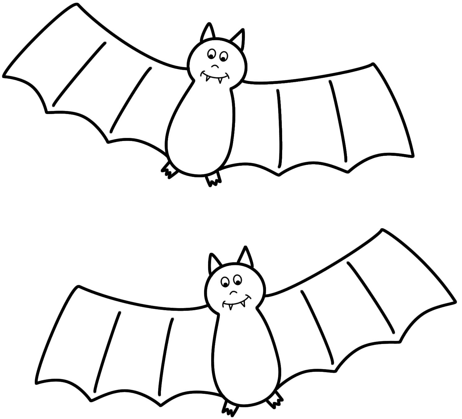 Bat coloring #12, Download drawings