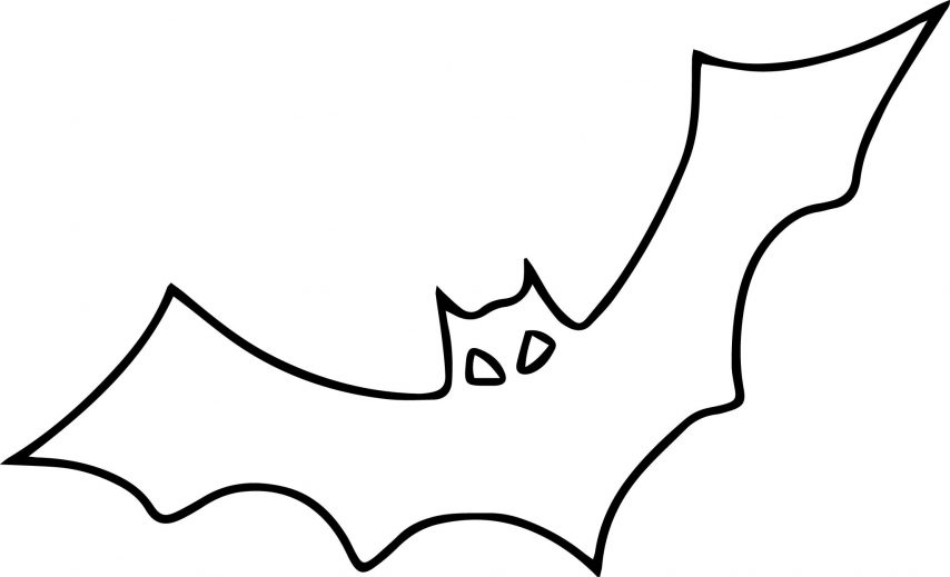 Bat coloring #11, Download drawings