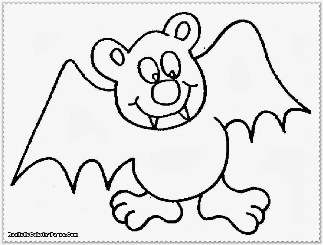 Bat coloring #4, Download drawings