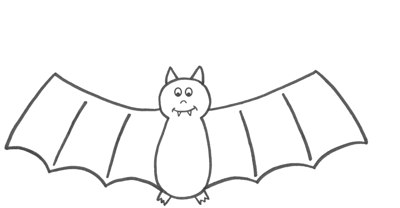 Bat coloring #7, Download drawings