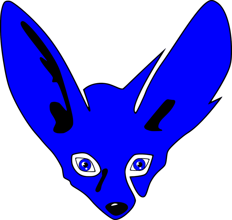 Bat-Eared Fox svg #5, Download drawings