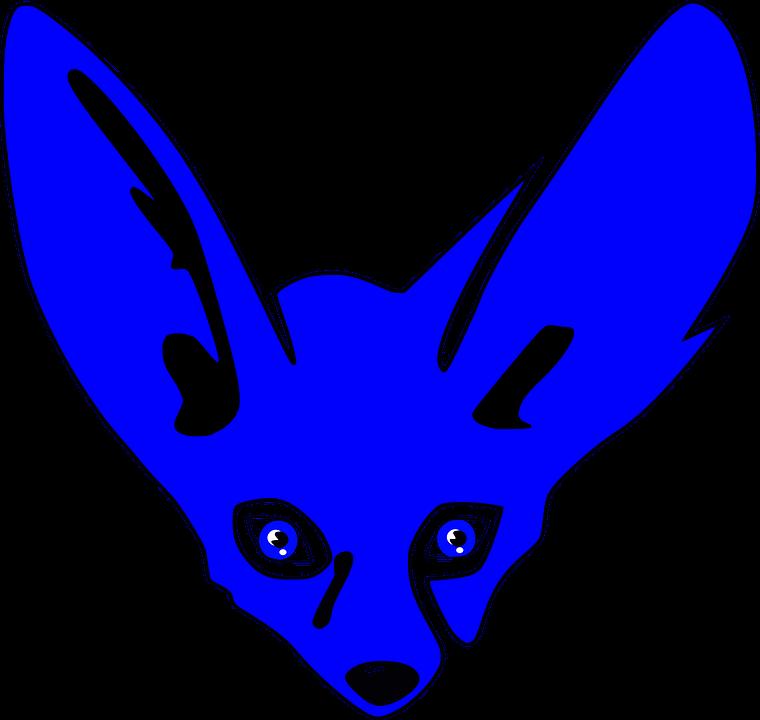 Bat-Eared Fox svg #5, Download drawings