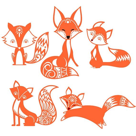 Bat-Eared Fox svg #6, Download drawings
