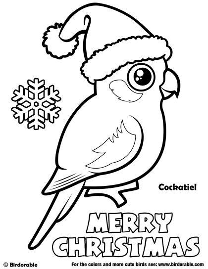 Cockatiel coloring #11, Download drawings