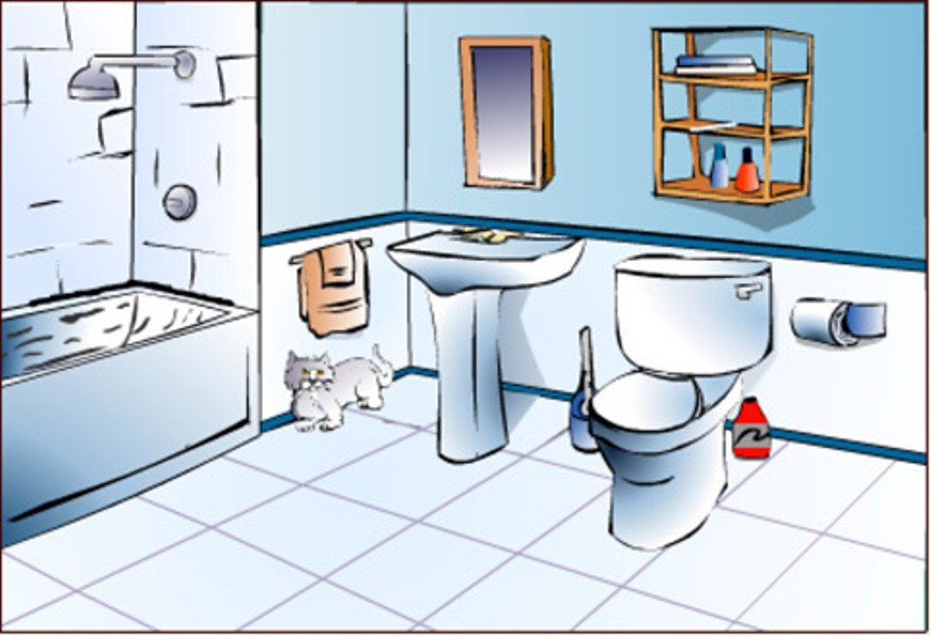 Bathroom clipart #9, Download drawings