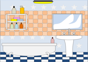 Bathroom clipart #13, Download drawings