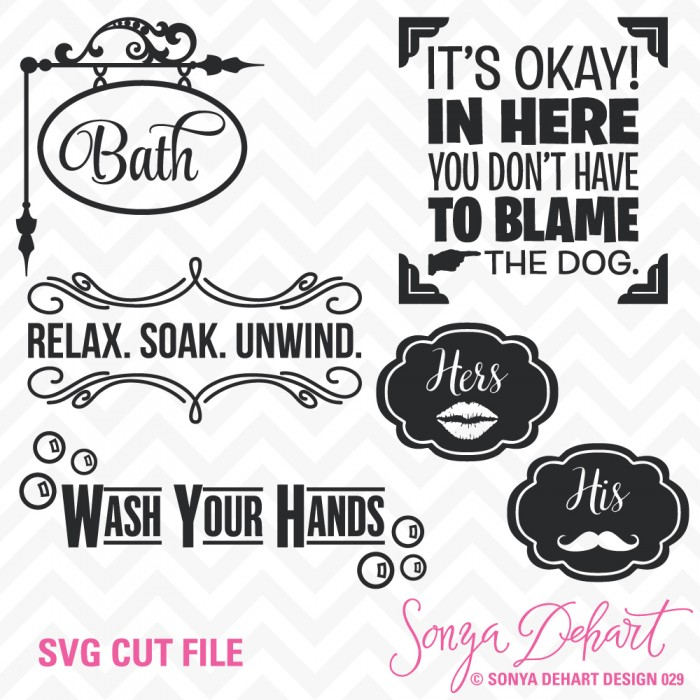 Bathroom svg #212, Download drawings