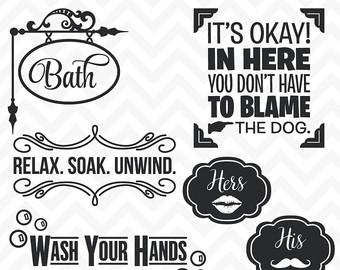 Bathroom svg #18, Download drawings
