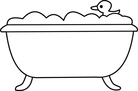 Bathtub clipart #3, Download drawings