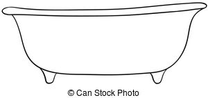 Bathtub clipart #17, Download drawings