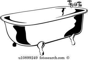 Bathtub clipart #16, Download drawings